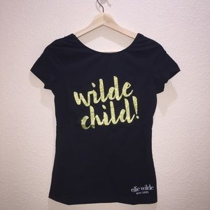 Limited edition Wilde Child t shirt